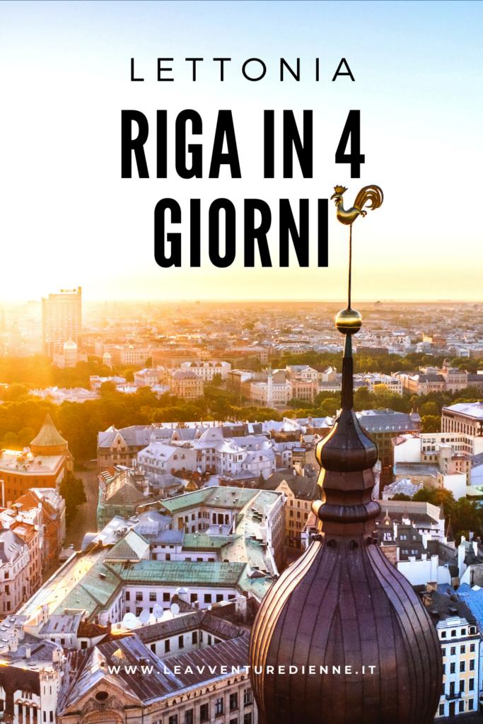 Riga in 4 giorni