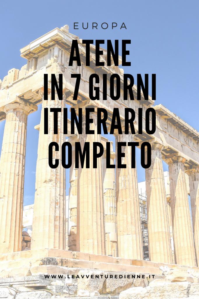 Cosa fare una settimana ad Atene